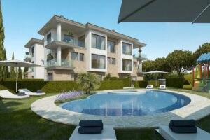 Complex of 7 apartaments with community pool in Port soller Mallorca