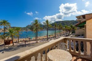 Fabulous sea views from the terrace