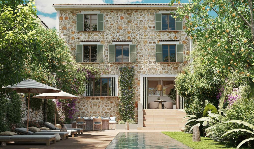 townhouse to restore for sale in soller mallorca