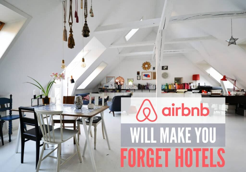 rent a property with airbnb